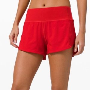 "4"" Lululemon Speed Up Short LONG"